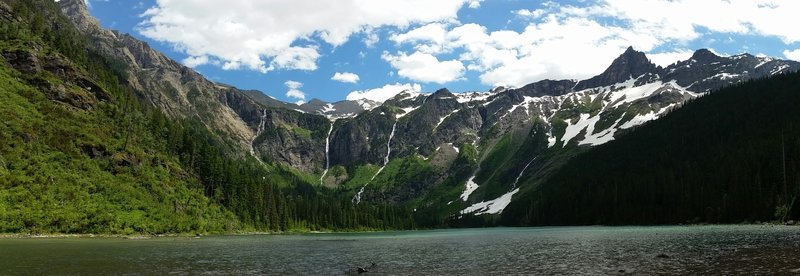 Avalanche Lake.