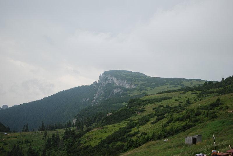 Ocolasu Mare view from Dochia Hut.