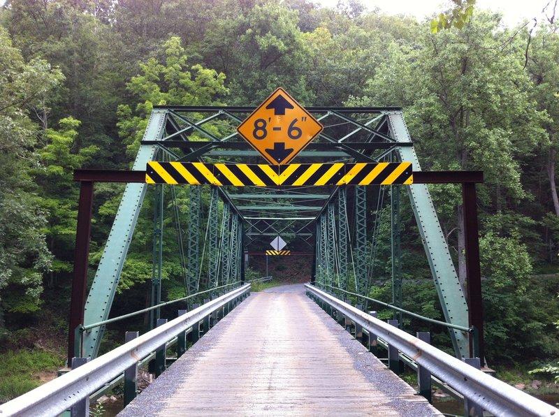Bridge over Sleepy Creek north of Route 9.