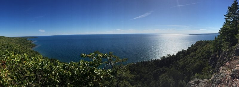 Sweeping views of Superior.