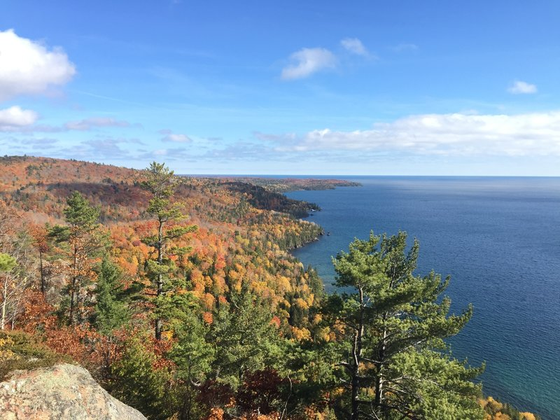 A view of the tip of the Keweenaw Penninsula.