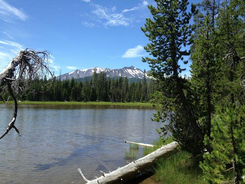 Diamond View Lake.