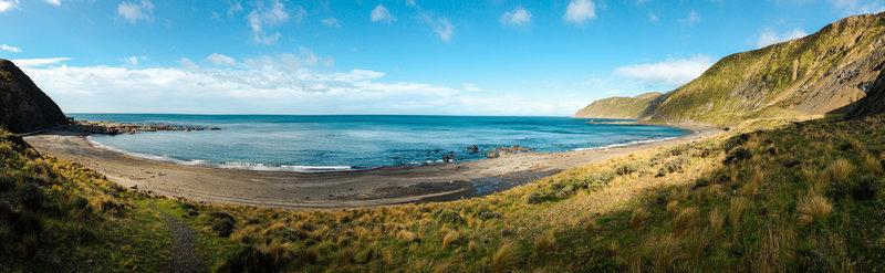 Beach panorama.