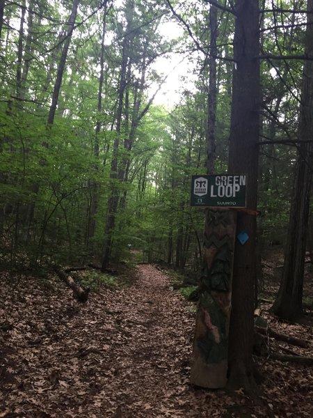 Green Loop Trailhead