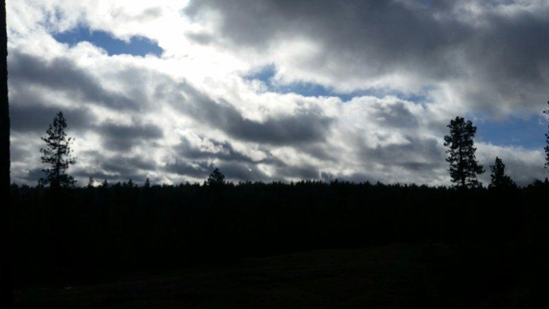 A cloudy day in Spokane.