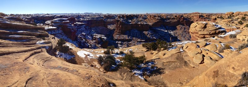 The Slickrock Trail in Canyonlands.