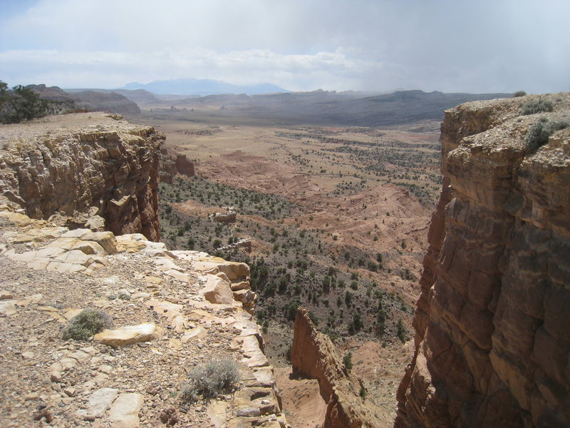 Upper South Desert Overlook.