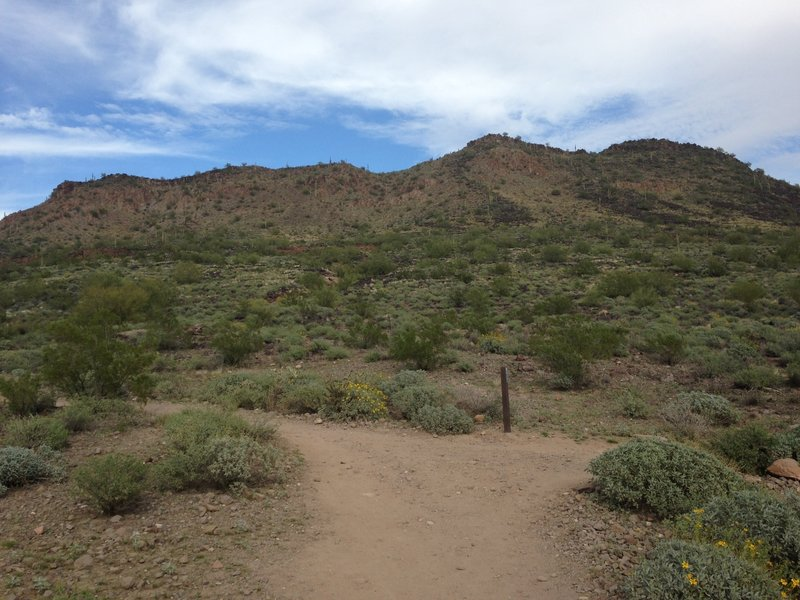 Trailhead to Circumference Trail.