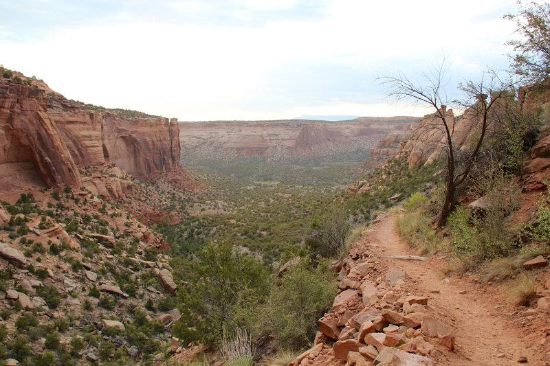 Upper Monument Canyon Trail, Colorado.