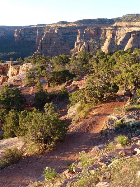 Monument Canyon, Colorado National Monument, Colorado.