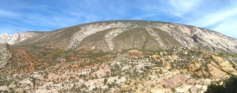 Split Mountain.