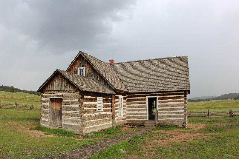 Hornbek Homestead - Florissant Fossil Beds.