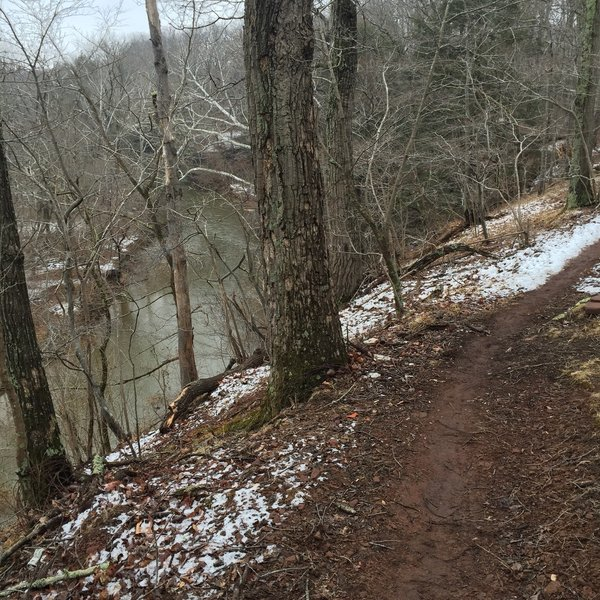 Seneca Bluffs trail
