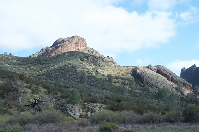 Just another view of the changing landscape as you reach the Juniper Canyon Trail.