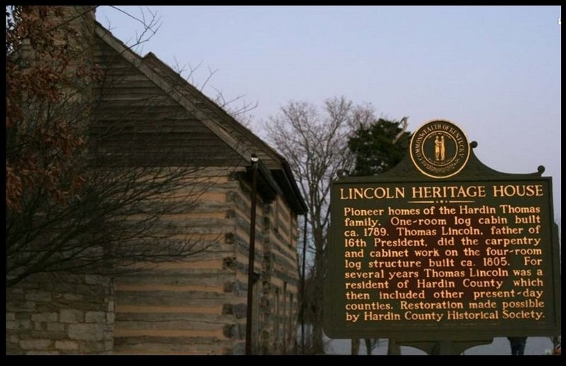 1800s homestead located at Freeman Lake park. About the 6 mile mark.