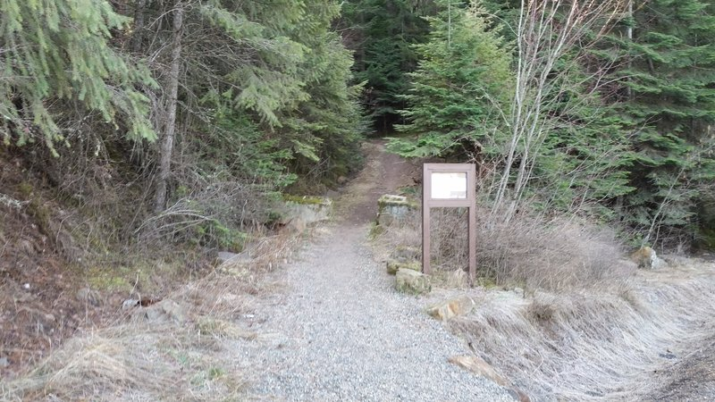 Start of the trail.