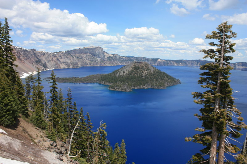 Discovery Point, Crater Lake National Park.