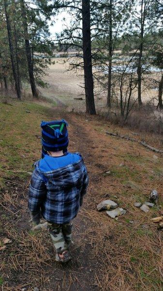 Mini-hiker.