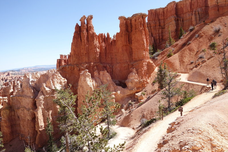 Great trails at Bryce Canyon National Park