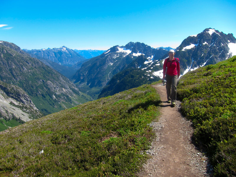 Sahale Arm Trail.