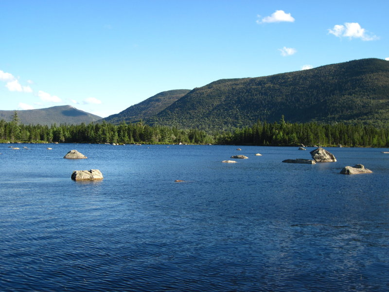 A detour to Russell Pond from the Pogy Notch Trail is usually worth it! with permission from Laura Sebastianelli