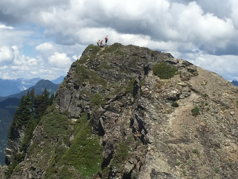 Another Sauk Mt summit.