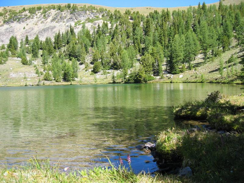 Tuckaway Lake, Chelan-Sawtooth Wilderness. with permission from Lucko666 Tim Hillard