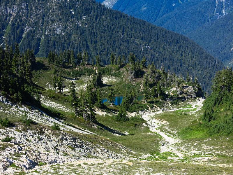 Views off of Copper Ridge Trail.