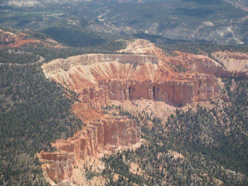 Bryce Canyon aerial. with permission from John McCall