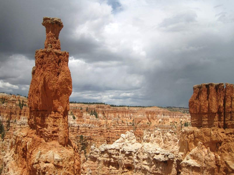 Viewing the Hoodoos from Peekaboo Loop Trail. with permission from Peter Connolly