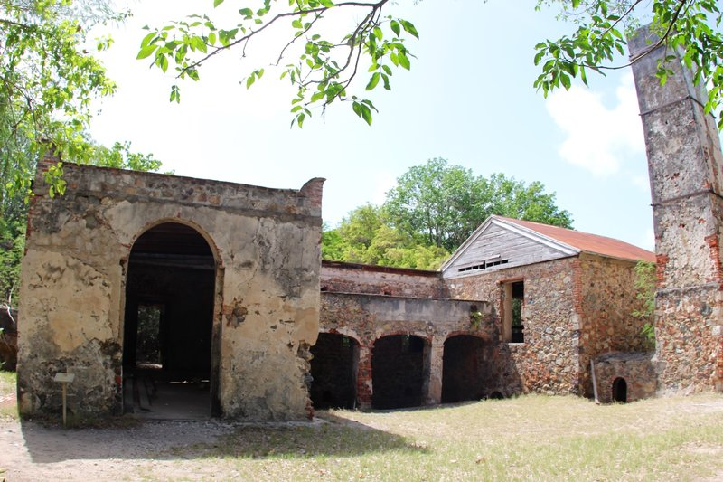 Reef Bay Sugar Mill.