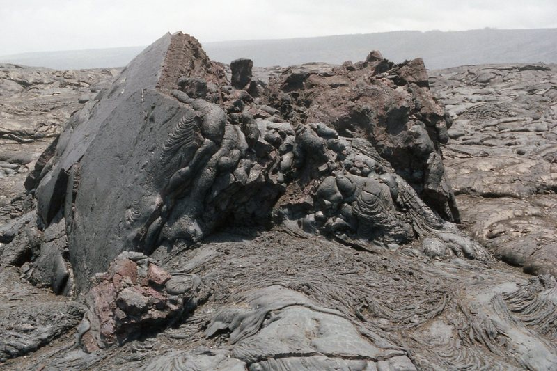 Pahoehoe formation. with permission from Ronald Losure