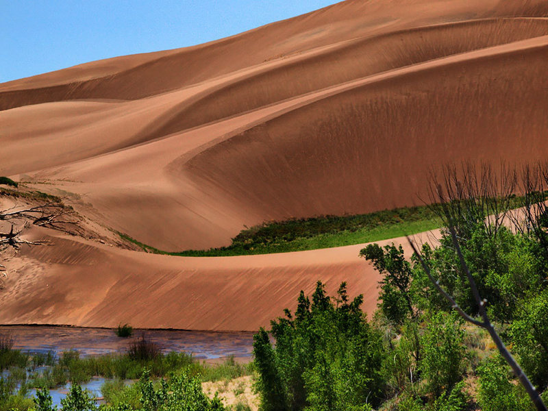 Sand Dunes NP, Colorado. with permission from algill