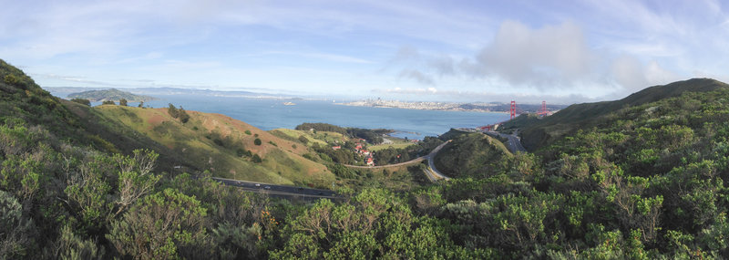 View from the SCA Trail.