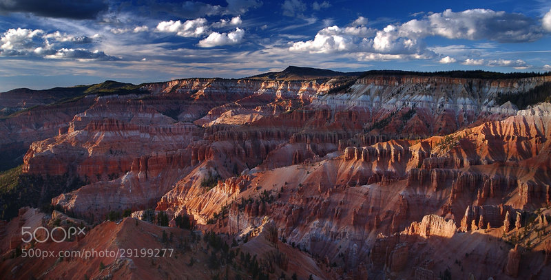 The amazing colors of Cedar Breaks.