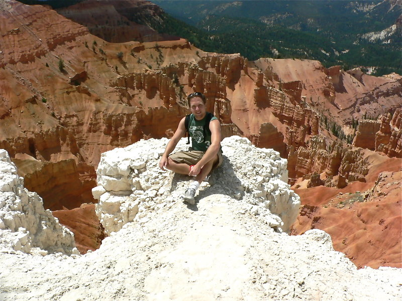 Just hanging out at Cedar Breaks National Monument.