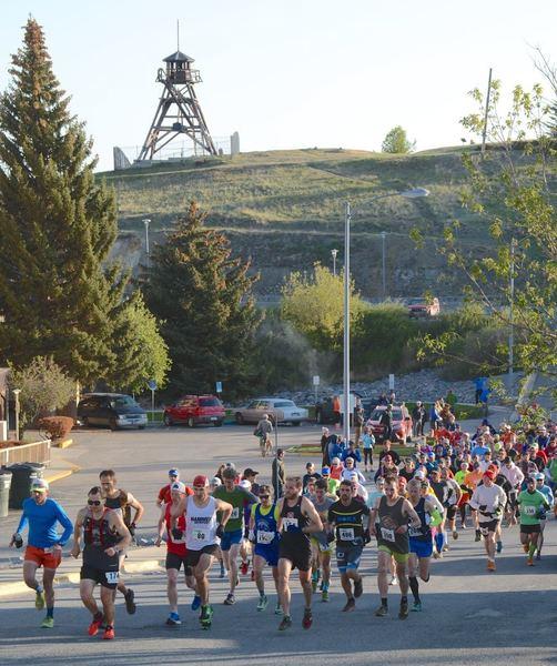 30K start below the historic Helena firetower.