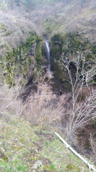 Indian Canyon Waterfall.
