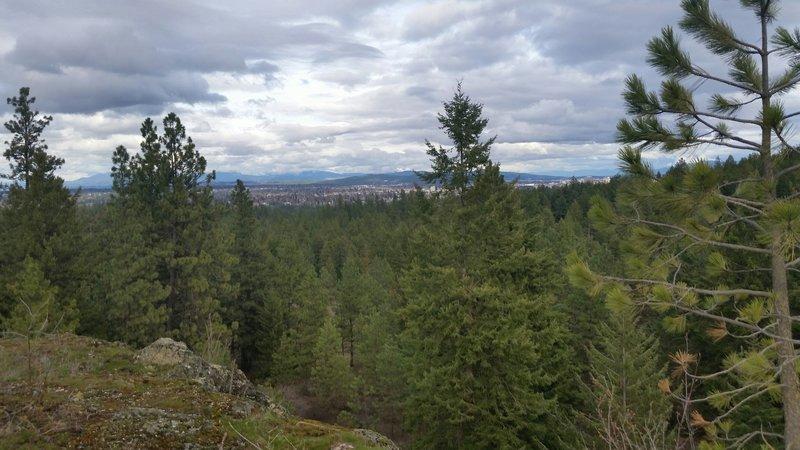 Spokane view.