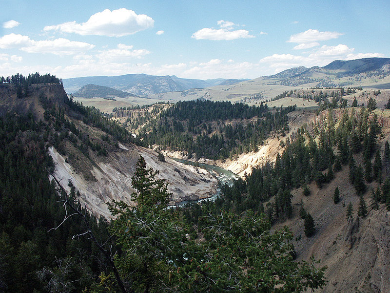 Yellowstone River overview. with permission from CarmelH
