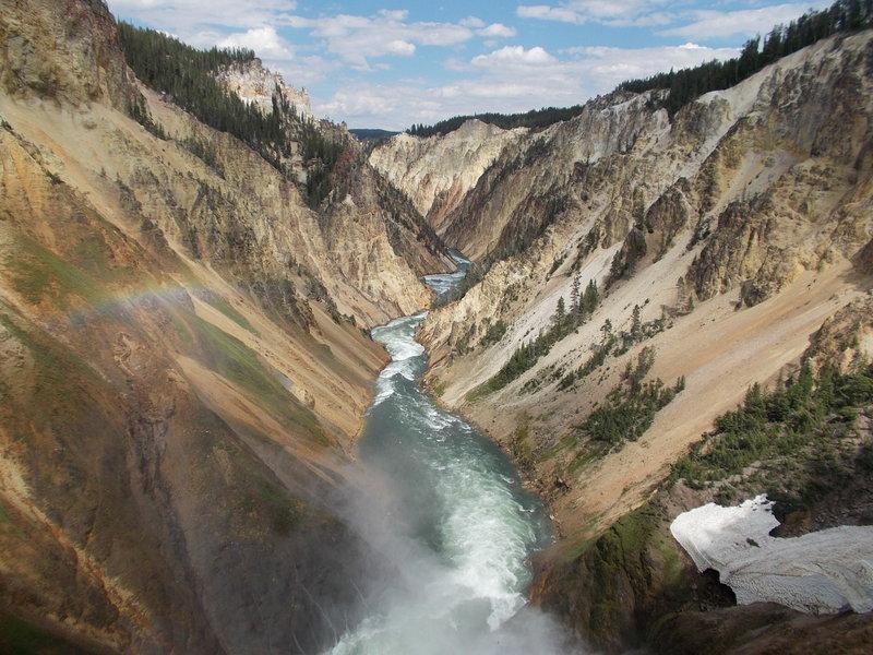 Yellowstone Canyon.