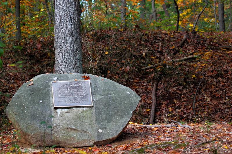 Fort DeRussy marker.