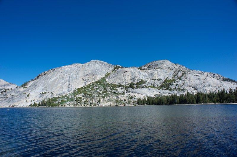 Tenaya Lake and the surround domes that make the area beautiful.
