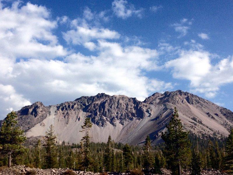 Rocky peaks in Lassen.