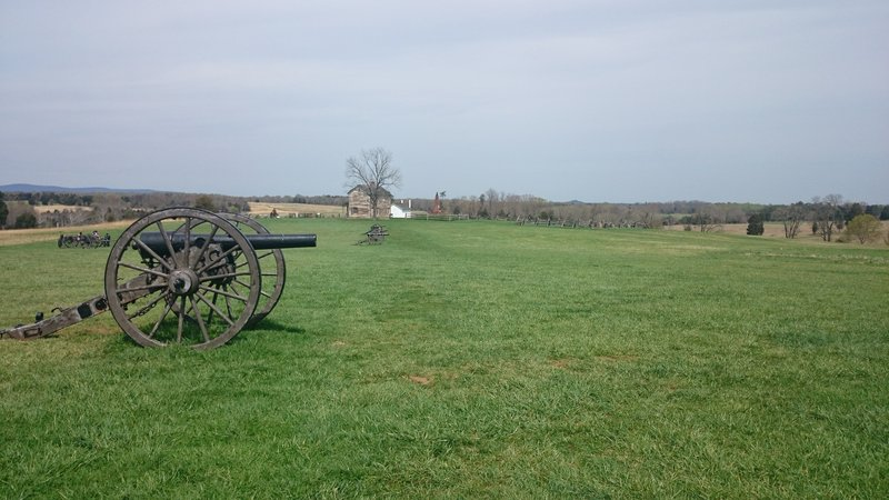 Surprising Manassas Battlefield With The Henry House In The Background Download Free Architecture Designs Scobabritishbridgeorg