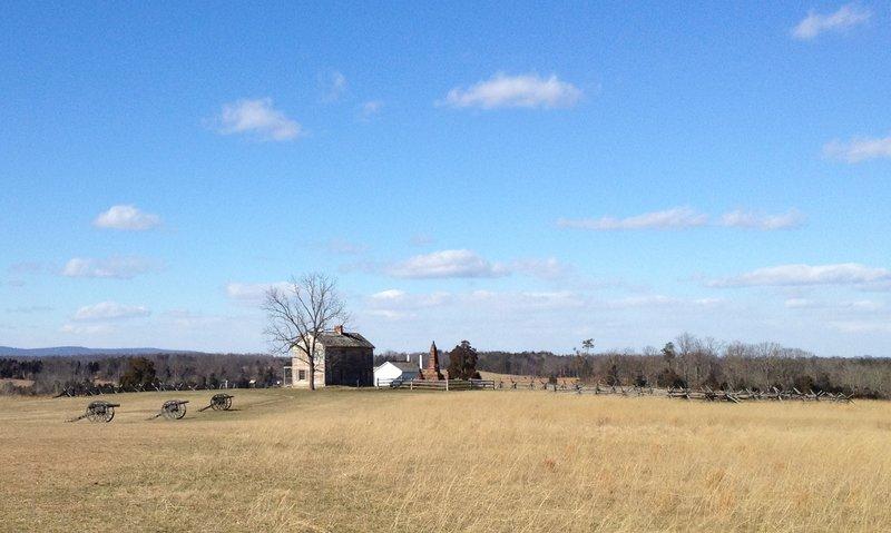 Henry House Hill, Manassas Battlefield.