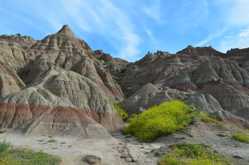 Badlands National Park's many colors. with permission from RAllen