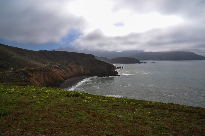 Looking South from Mori Headlands.