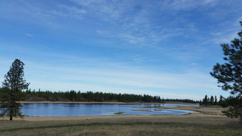 Slavin Lake.