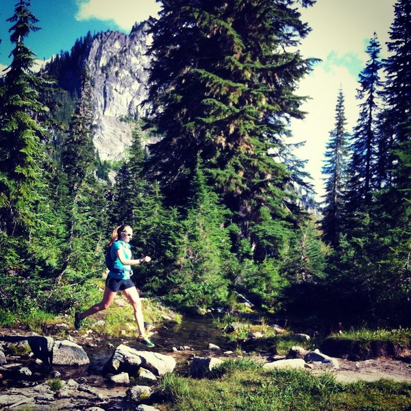 PCT between Stevens Pass and Valhalla Lake, September.